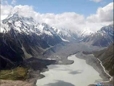 在末次冰期中北方的冰导致南方下雨