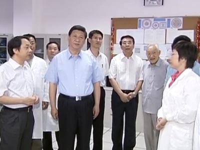 习近平考察中国科学院:扫除影响创新的体制障碍