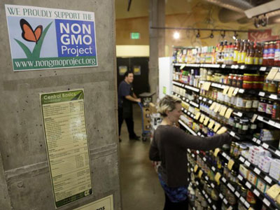 美国华盛顿州公投否决标识转基因食品法案