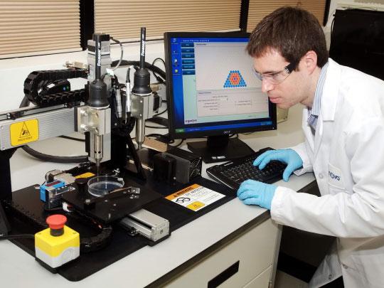 3D打印肝脏薄片功能上逼近人体肝脏