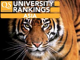 2014年QS亚洲最佳大学排行榜出炉 北大进前十