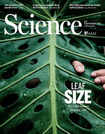 2017年9月1日Science期刊精华