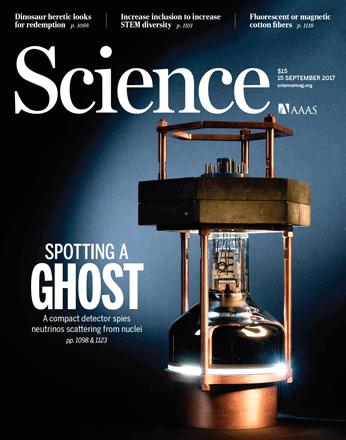 2017年9月15日Science期刊精华